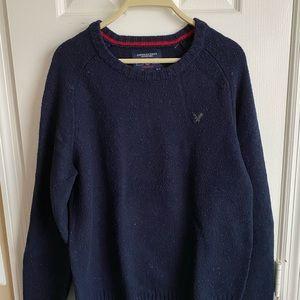 AE Men's M Navy Sweater